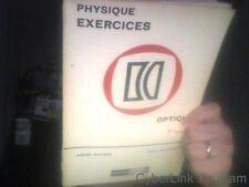 Physique II exercices optique electricite  de moussa a /ponsonne