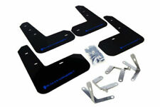Rally Armor For 2013+ Subaru BRZ and Scion FR-S Black UR Mud Flaps w/ Blue Logo