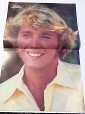 VTG 80s' PINUP Leif Garrett + Chris Atkins John Schneider Teen Magazine 1 PAGE