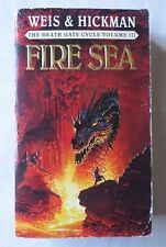 WEIS & HICKMAN: FIRE SEA: The Death Gate Cycle #3 [Paperback Book]