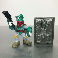 Star Wars Galactic Heroes BOBA FETT & CARBONITE HAN SOLO from Slave 1 set