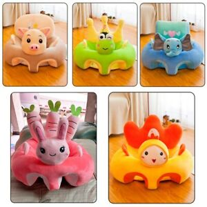 Creative Cartoon Baby Sofa Cover Learning to Sit Seat Feeding Chair Case Cushion