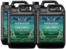 Dirtbusters Clean & Protect carpet cleaning solution shampoo pet odor remover