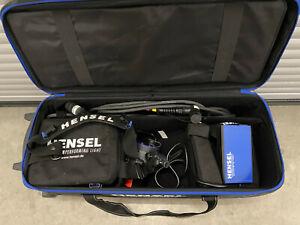 Hensel Porty L 1200 Kit Mobile Blitzanlage Akku-Blitzgenerator + Transport Case