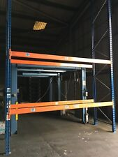 1 Bay PSS Warehouse Pallet Storage Racking 6m high x 3.45m wide 1.1m deep VGC