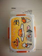 Gudetama Skater 650ml 4-point lock lunch box Made in Japan