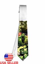 Hulk Marvel Avenger Movie Necktie Neck Tie Anime Manga Child Cosplay Gift