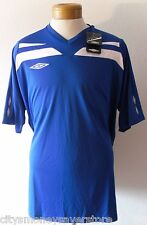 NWT Umbro National Mens Soccer Jersey XL Royal/White MSRP$60