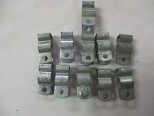 """Minerallac 1/2"""" Used Conduit Hanger Clamps (Qty 11)"""