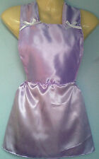 Lilas satin jupe ange bib tutu french maid cosplay sissy adult baby fit 28-40