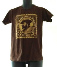 Thelonious Monk 3 Cent Stamp T Shirt Brown Size S