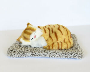 Purrfect Orange Tabby Cat on Pillow - Cute Kitty for Adults & Kids
