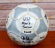 Adidas Terrestra Silverstream 2000 Euro Match Soccer Ball-16 UW WISC Signatures