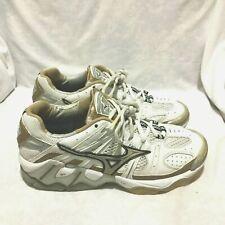 Mizuno Wave Tornado 2 Volleyball Court Shoes White Size 9 Women's