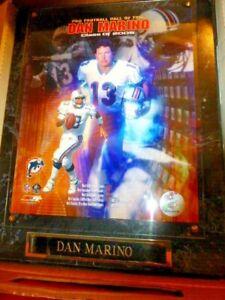 Dan Marino 2005 Pro Football Hall of Fame Plaque NIP