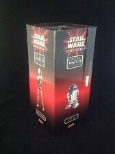 Box Of 4 ~ Star Wars Die Cast Watches: R2-D2,Battle Droid, Pit Droid, Darth Maul