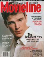 Movieline July 2001 Josh Hartnett Catherine Zeta-jones 021820DBF2