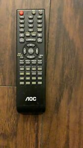Original Remote Control For AOC TV Free Shipping TESTED