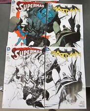 4x BATMAN SUPERMAN 50; JETPACK COMICS FORBIDDEN PLANET b/w color SEAN MURPHY HOT