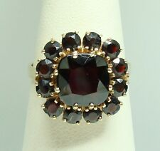 Granat Ring Gold 585er Gelbgold Gr. 57 Granate bei sonnenstrahlschmuck