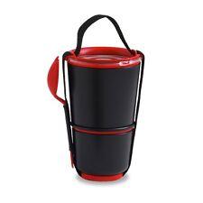 Noir & rouge lunch pot par black & blum
