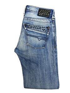 Original Diesel Timmen 008AT Regular Straight Blue Denim Jeans W30 L32 ES 7347