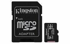 Kingston Micro SD 64 GB Canvas Select Plus 100MB/s Leer tarjeta de memoria ct ES