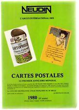 Catalogue Neudin 1980, l'argus international des cartes postales