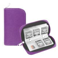 Memory Card Case Carrying Water-Resistant Holder Storage SD SDHC SD CF