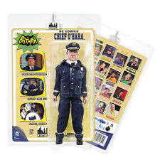 Batman 66 Classic TV Show Mego Style 8 Inch Figures Series 5: Chief O'Hara