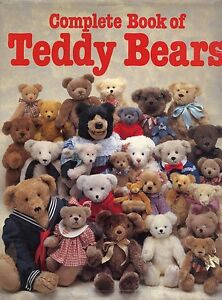 Collectible Antique Teddy Bears - History Development Types Makers / Book