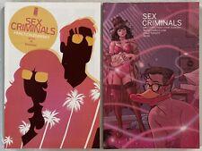 SEX CRIMINALS 11 & 20 NM FRACTION ZDARSKY RARE Variant Cover IMAGE COMICS 2015