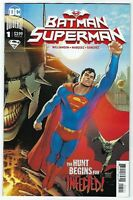 Batman Superman #1 DC COMICS Superman Cover B 1ST PRINT INFECTED ! 2019