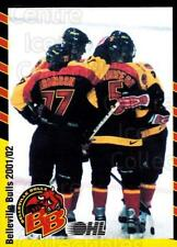 Matt Stajan Hockey Card 2001-02 Belleville Bulls #22 Matt Stajan