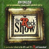 JON ENGLISH & ORIGINAL CAST (2 CD) THE ROCK SHOW *NEW*