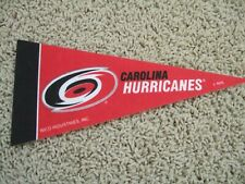 "Carolina Hurricanes Nhl Hockey Team Mini 9"" Souvenir Felt Pennant Flag New"