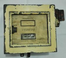 Taximetro Español Años 20 Old Spanish Taximeter 20´S Vintage Antigüedad Retro