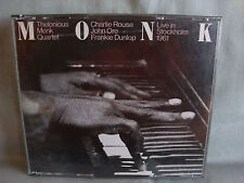 Thelonious Monk Live in Stockholm 1961 - 2-cd-box-no CODICE A BARRE-Made in Japan 87-rar