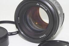 Nikon NIKKOR 50mm f/1.4 AF Lens Prime f1.4 w/ Filter,pouch【Exc+++】From JAPAN F/S
