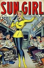 Sun Girl #2 Photocopy Comic Book, (35 pages, blank inside FC)