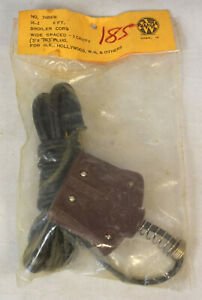 NOS Vintage Replacement 3-Pin High Low Broiler Appliance Power Cord