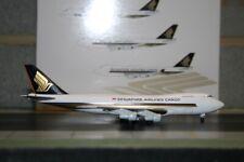 Jet-X 1:400 Singapore Airlines Cargo Boeing 747-200F 9V-SQU (JX601) Model Plane