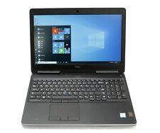 New listing Dell Precision 7510 Core i7-6820Hq 2.7Ghz 8Gb Ram 500Gb Hdd Win10 Pro x7 Lte