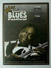 2006 14Th Annual Santa Cruz Blues Festival, Bb King, Aptos Park, Calif.