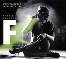 FABRIZIO DE ANDRE' - CREUZA DE MA IL CONCERTO 1984 - 2LP VINYL NEW SEALED 2012