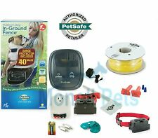 PETSAFE STUBBORN BIG DOG ELECTRIC IN-GROUND Fence 2 Dogs 500' 20 Gauge Wire Kit