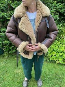 Irvin sheepskin flying jacket - size 40
