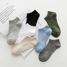 1Pais Random Color Men Cotton Loafer Boat Invisible No Show Socks Non-Slip