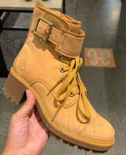 Timberland Wonens Wheat Nubuck Lace Up Boots