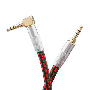 Aux cord Audiophile Stereo Audio Cable 3.5mm for iPhones iPads Headphone MP3 Car